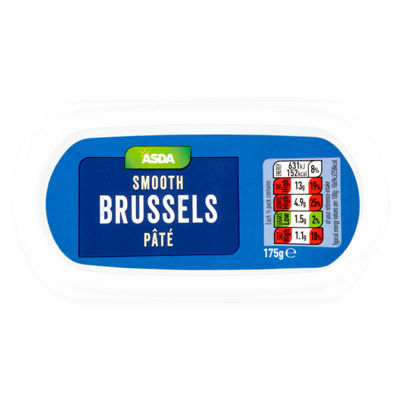 Calories In 100 G Of Asda Asda Smooth Brussels Pate