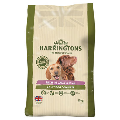 Calories In 100 G Of Asda Harringtons Complete Dry Dog Food With