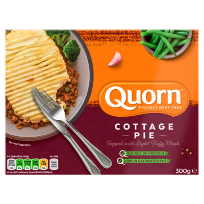 Calories In 100 G Of Asda Quorn Meat Free Cottage Pie