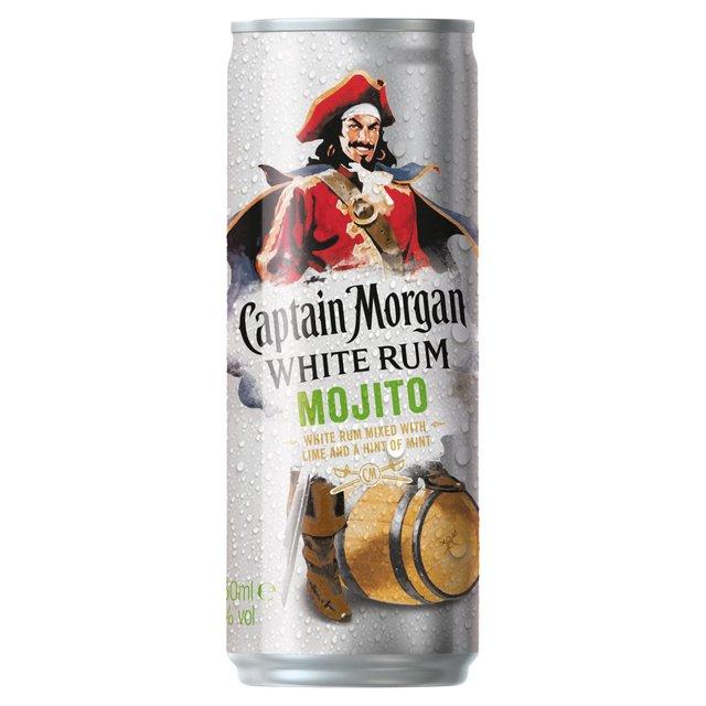 Captain Morgan White Rum Mojito