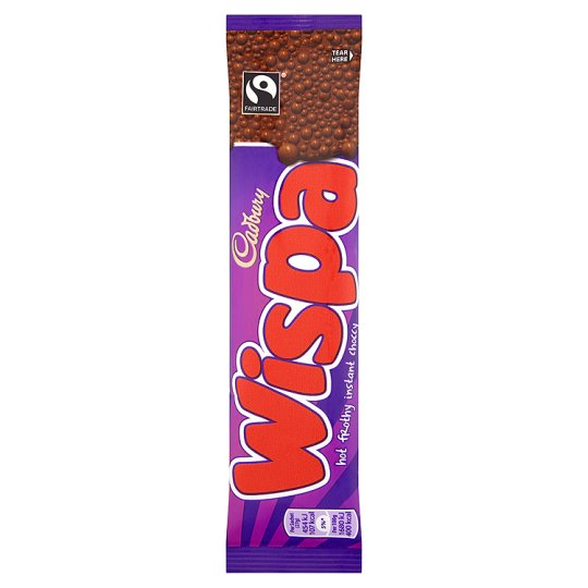 Calories In 100 G Of Tesco Cadbury Wispa Hot Chocolate