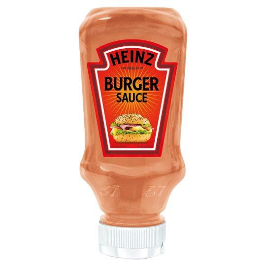 Calories In 100 Ml Of Tesco Heinz Burger Sauce Nutristandard