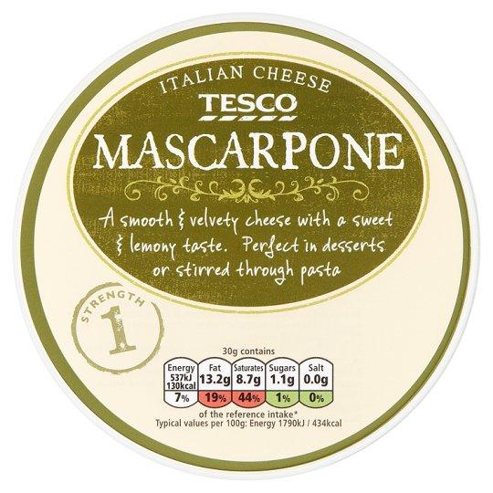 Tesco - Tesco Mascarpone Cheese