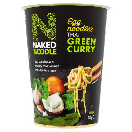 Calories In 100 G Of Tesco Naked Noodle Thai Green Curry