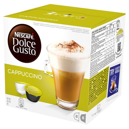Calories In 100 G Of Tesco Nescafe Dolce Gusto Cappuccino