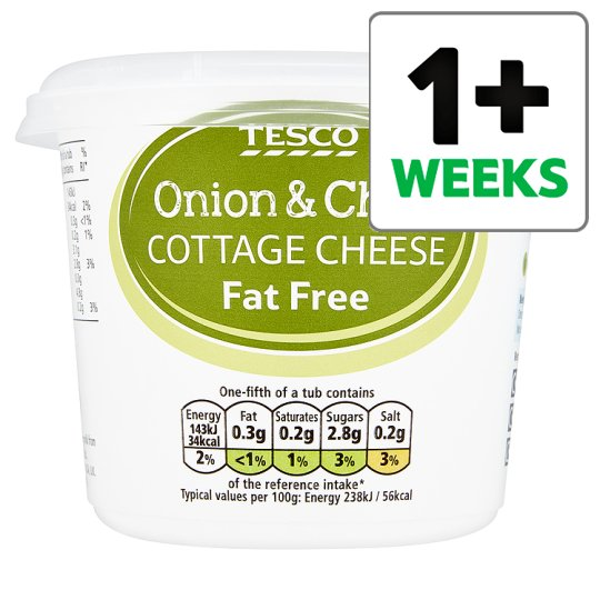 Amazing Calories In 100 G Of Tesco Tesco Onion And Chive 0 Fat Download Free Architecture Designs Scobabritishbridgeorg