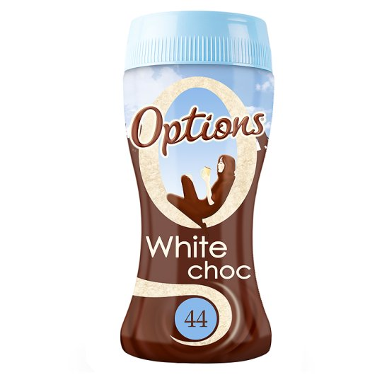 Calories In 100 G Of Tesco Options White Chocolate Drink