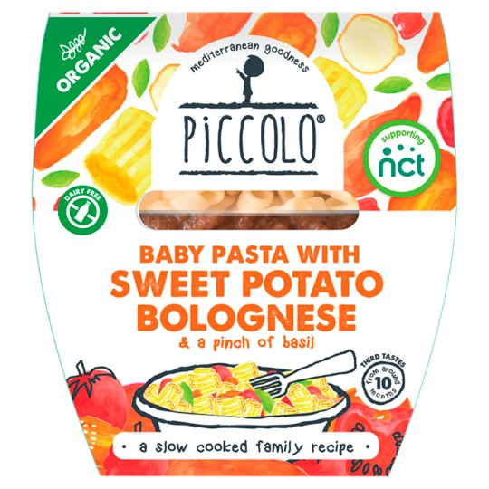 Calories In 100 G Of Tesco Piccolo Organic Baby Pasta