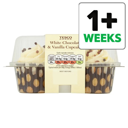 Calories In 100 G Of Tesco Tesco White Chocolate And
