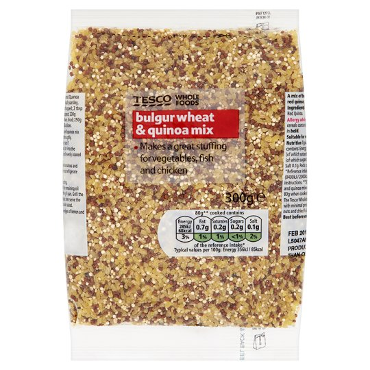 Calories In 100 G Of Tesco Tesco Whole Foods Bulgur Wheat And