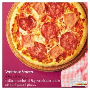 Calories In 100 G Of Waitrose Waitrose Stone Baked Pizza
