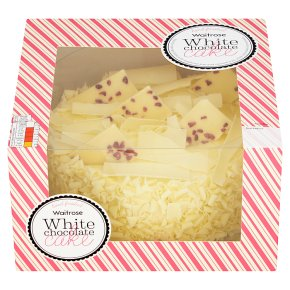 Sensational Calories In 100 G Of Waitrose Waitrose White Chocolate Cake Funny Birthday Cards Online Inifofree Goldxyz